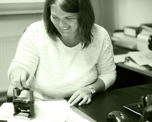 Simone Schmadlak - Verwaltungsfachangestellte